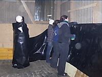 2009 Ø-Party - Aufstellen